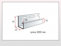 Планка J-trim Блокхаус