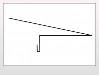 Карнизная планка под гибкую черепицу (250мм)