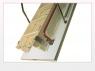 Двухсекционная раздвижная чердачная лестница LDK