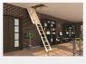 Чердачная лестница KOMFORT (LWK)