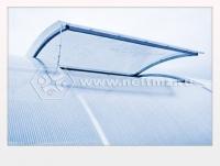 Форточка боковая для теплиц из поликарбоната