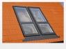 Двустворчатое мансардне окно-балкон FAKRO