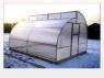 Теплица из поликарбоната (4мм и 6мм) Уралочка по Митлайдеру ш1,0м