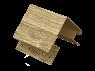 Наружный угол Timberblock Ель